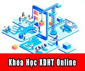 khóa học vây dựng hệ thống online