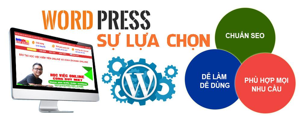 Ưu điểm của thiết kế website bằng wordpress